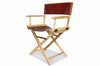 No. 1019 - Two Director Chairs in Havana Brown