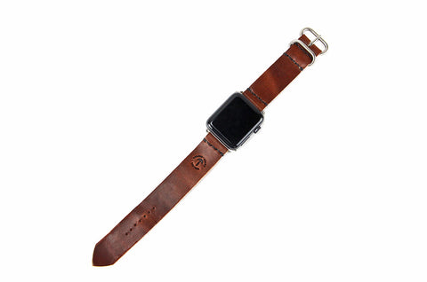 No. 718 - Apple Watchband in Havana Brown