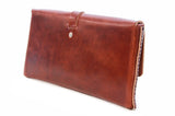No. 317 Clutch in Havana Brown