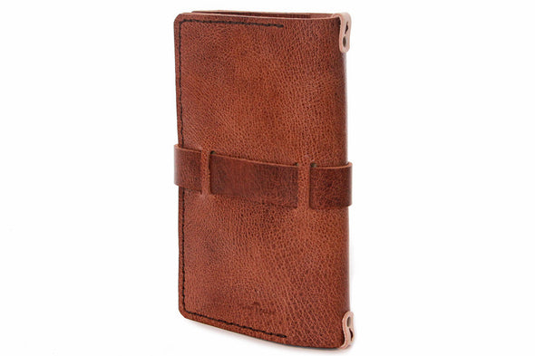 No. 117 Medium Journal Cover Glazed Tan