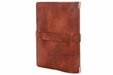 No. 117 Large Journal Cover Glazed Tan