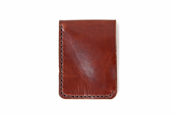 No. 1119 - Snap Wallet in Havana Brown