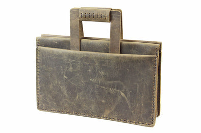 No. 4315 - Attaché Case in Crazy Horse