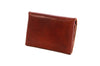 No. 514 - Small Trucker Wallet in Havana Brown