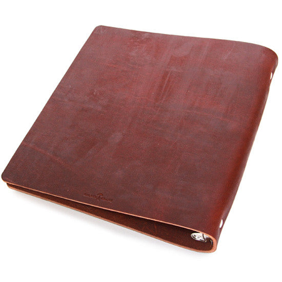 Menu Jacket in Scotch Grunge - Three Ring Binder