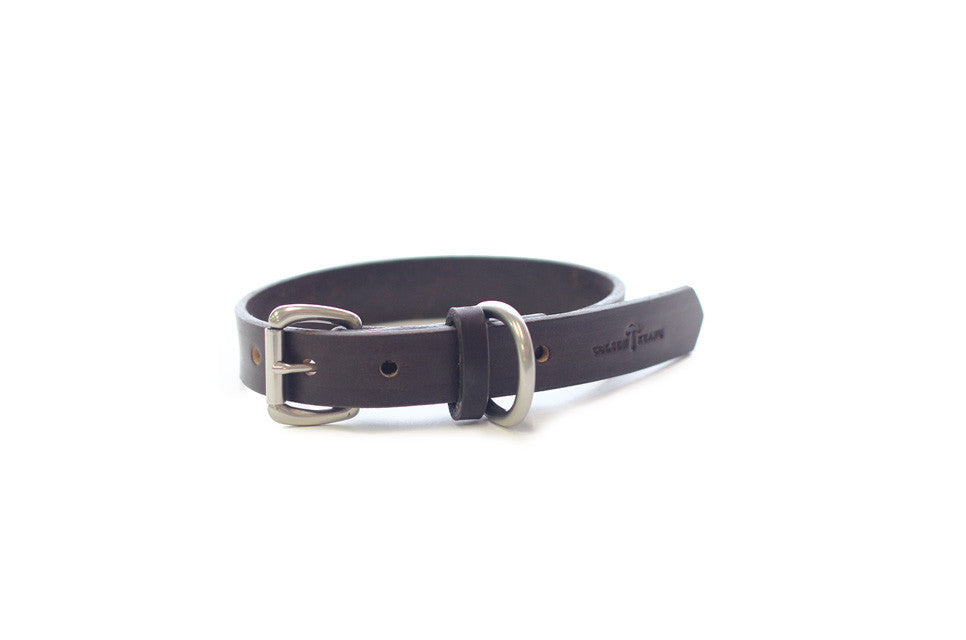 No. 115 - Dog Collar in Brown