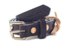 No. 814 - Skinny Work Belt in Bridle Brown