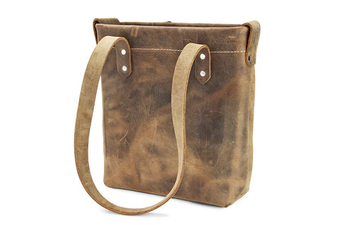 No. 419 - Standard Tote in Crazy Horse