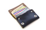 No. 514 - Small Trucker Wallet in Horween's Black