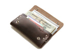 No. 514 - Large Trucker Wallet in Horween's Brown