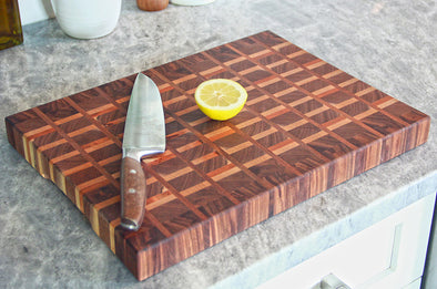 The Daniel - End Grain Board by Dogwood Farm Designs