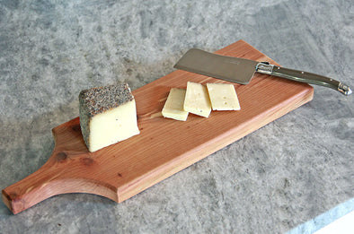 The Murray - Cedar Cheese Board by Dogwood Farm Designs