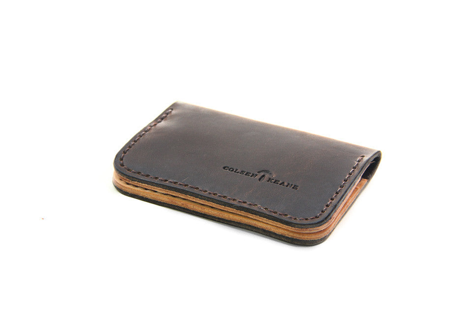 No. 215 - Card Wallet in Crazy Horse