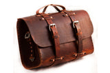No. 4311 - Large Scotch Grunge Leather Satchel