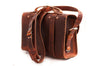 No. 4311 - Standard Scotch Grunge Leather Satchel