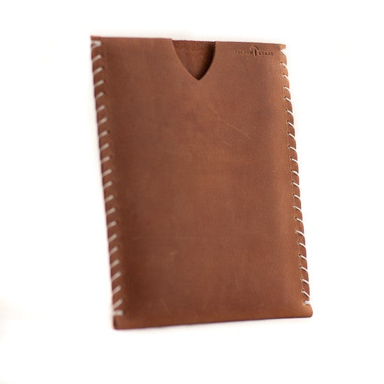 No. 911 - Simple iPad Mini Sheath in Vintage Brown