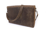 No. 4319 - Portfolio Bag in Crazy Horse
