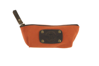 Canvas Case in Orange - Small