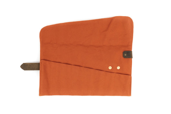 Canvas Roll-Up in Orange