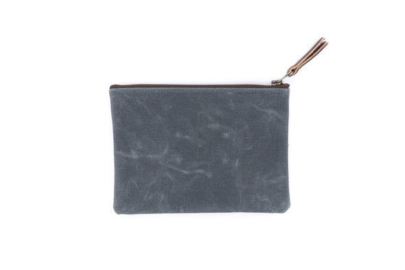 Canvas Pouch in Natural - Medium