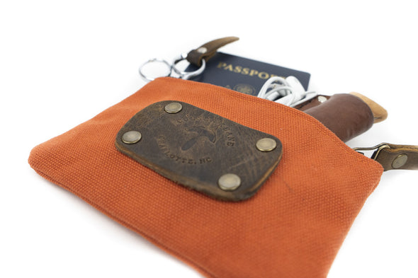 Canvas Pouch in Natural - Small