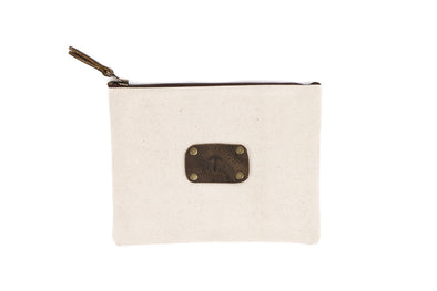 Canvas Pouch in Natural - Large