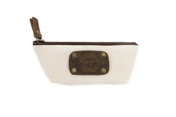 Canvas Case in Grey  - Small