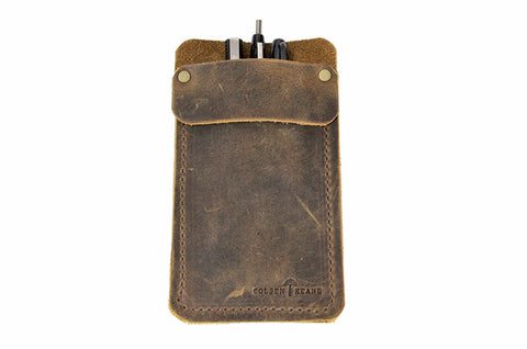 No. 818 - Pocket Protector in Crazy Horse