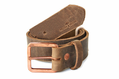 No. 919 - Copper Work Belt in Crazy Horse