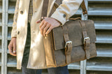 No. 4313 - Minimalist Standard Leather Satchel in Rob Roy Bourbon - SPECIAL Holiday Run, Only One Made! SOLD OUT