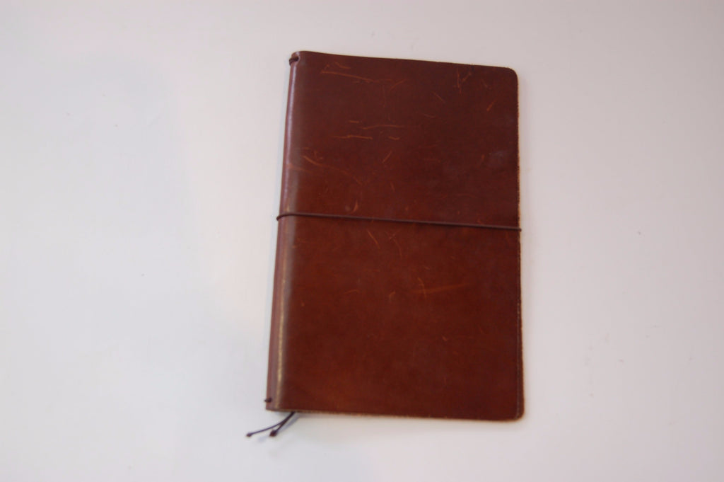 No. 510 - Medium Journal Cover in Havana Brown - S31 - $38