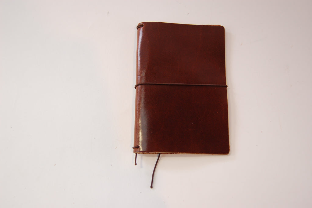 No. 410 - Field Notes Cover in Havana Brown - S36 - $26