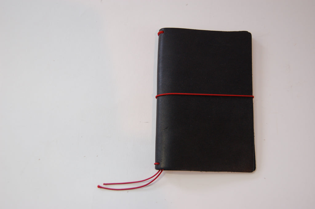 No. 410 - Field Notes Cover in Deep Black - S39 - $26