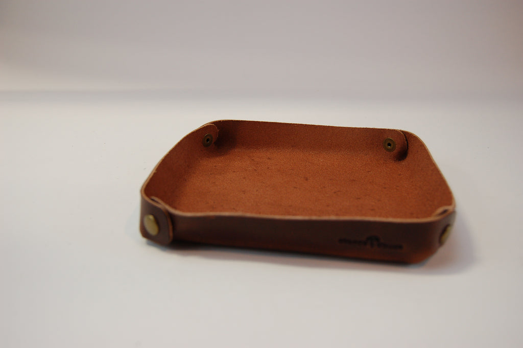 No. 1218 - Valet Tray in Crazy Horse - S71 - $22