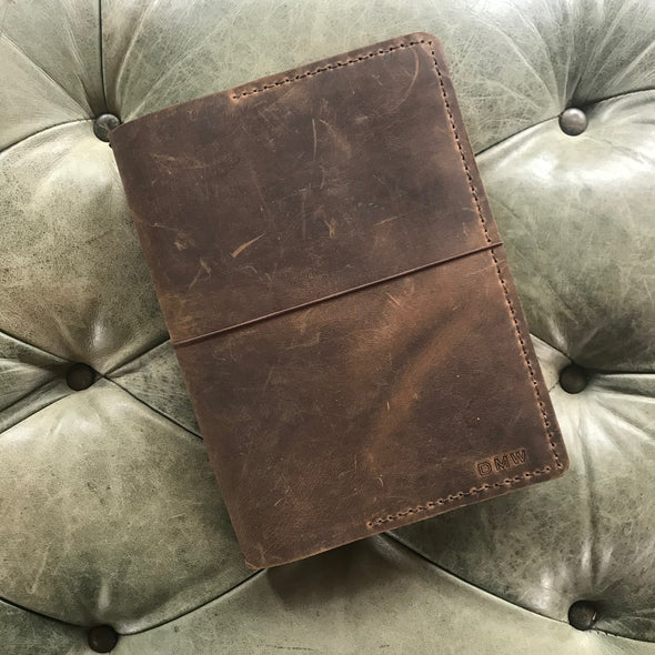 Journal with Custom Stitched Pockets