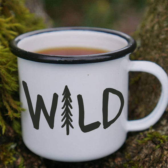Wild Pine Tree Hiking Mug