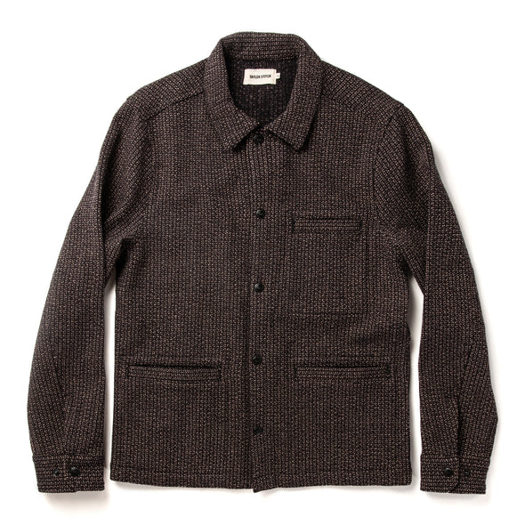 The Decker Jacket in Wool Beach Cloth by Taylor Stitch