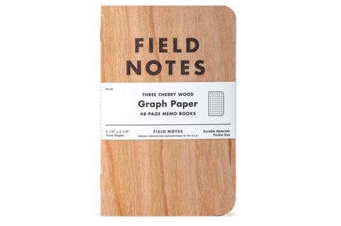 Field Notes Inserts - Cherrywood Edition