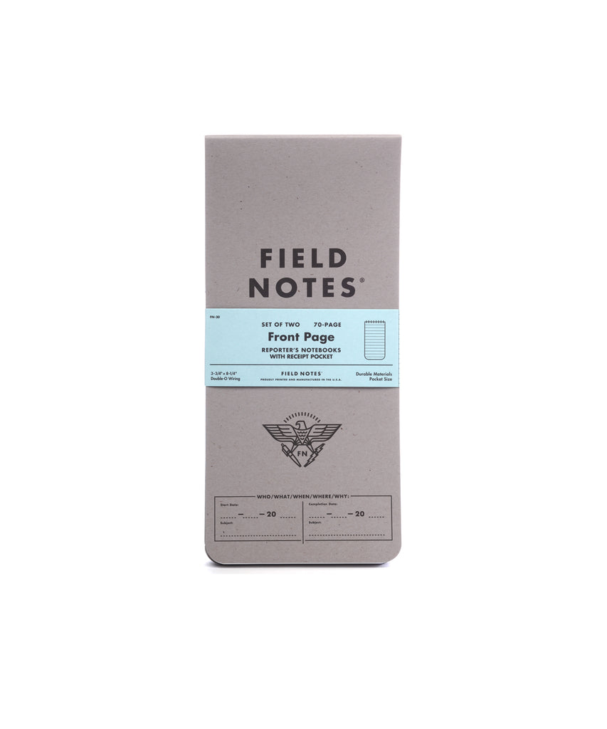 Field Notes Front Page Edition