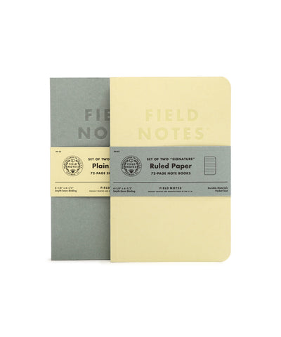 Field Notes Inserts - Signature Edition (Ruled Paper)