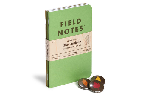 Field Notes Inserts - Shenandoah Edition