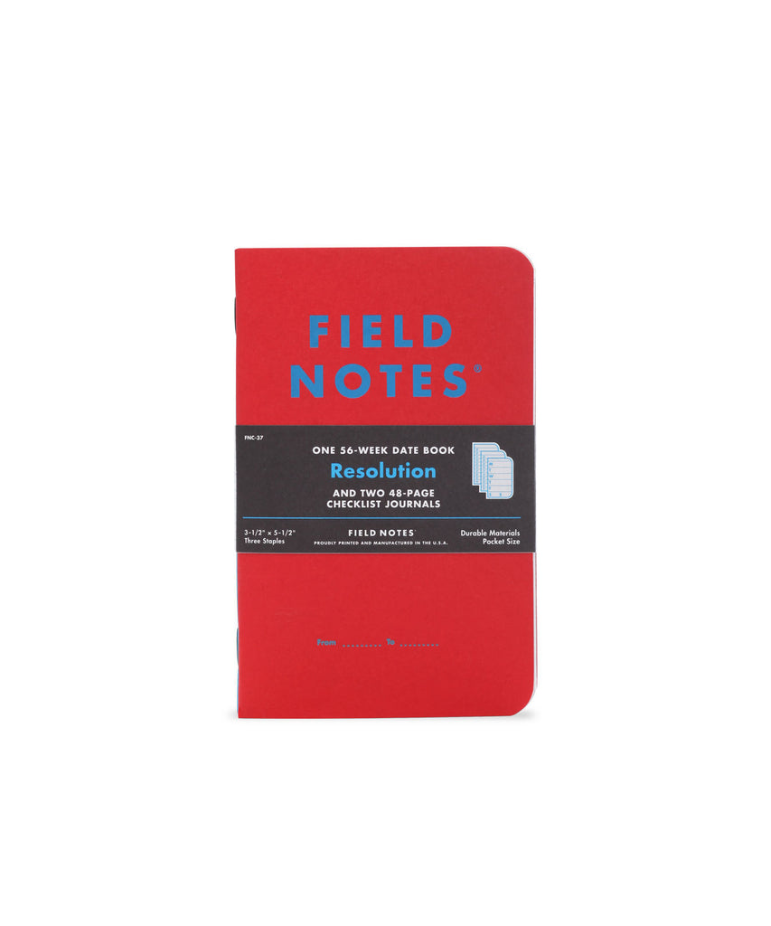 Field Notes Inserts - Resolution Edition
