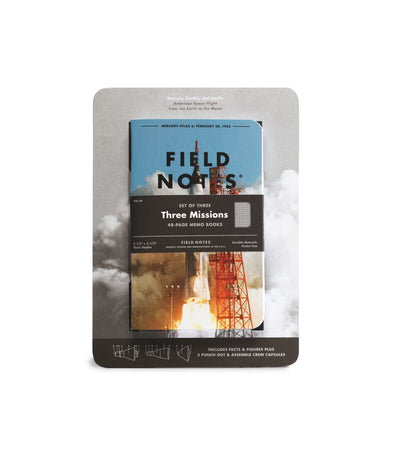 Field Notes Inserts - Three Missions Edition