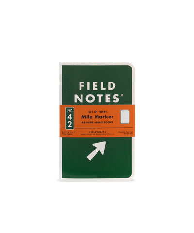Field Notes Inserts - Mile Marker Edition