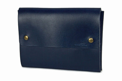 No. 1214 - Tablet Portfolio Case in Doctor Blue Buffalo