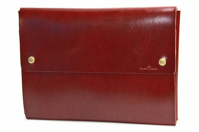 "No. 1214 - Large Portfolio Case in Buffalo Red (Fits 15"" & 16"" MacBook Pro)"