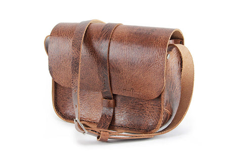 No. 517 The Daily Crossbody Bag in Glazed Tan