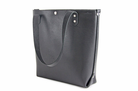 No. 417 Tote in Deep Black