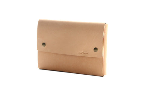 No. 1214 - iPad Air/Mini Portfolio Case in Natural Tan