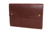 Exterior Pocket for 4313 Leather Satchels in Scotch Grunge